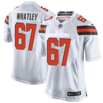 Youth Jeffery Whatley Cleveland Browns Nike Game Jersey - White