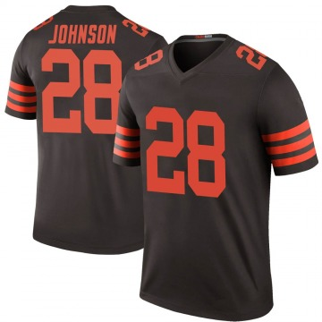 Youth Kevin Johnson Cleveland Browns Nike Legend Color Rush Jersey - Brown