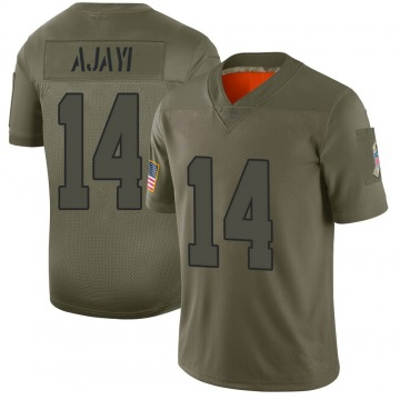 Youth Solomon Ajayi Cleveland Browns Nike Limited 2019 Salute to Service Jersey - Camo